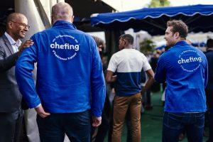 L'équipe chefing sur événement