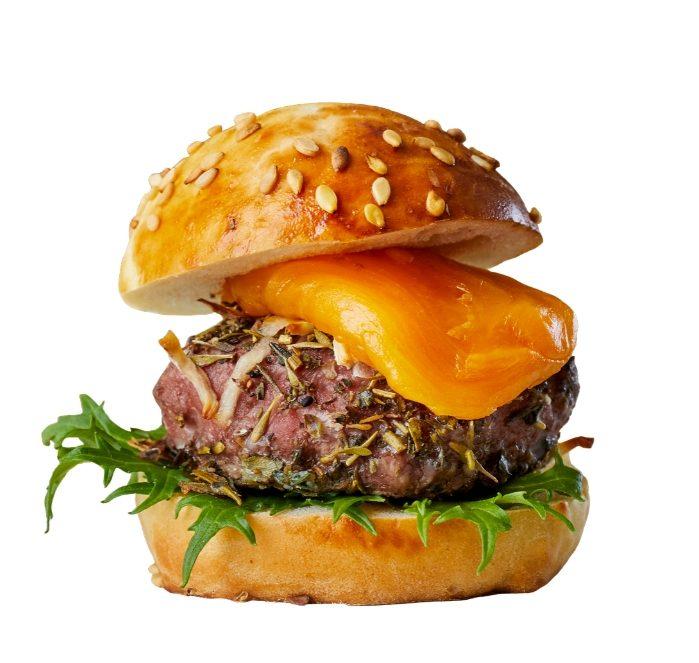 Burger fait maison chefing