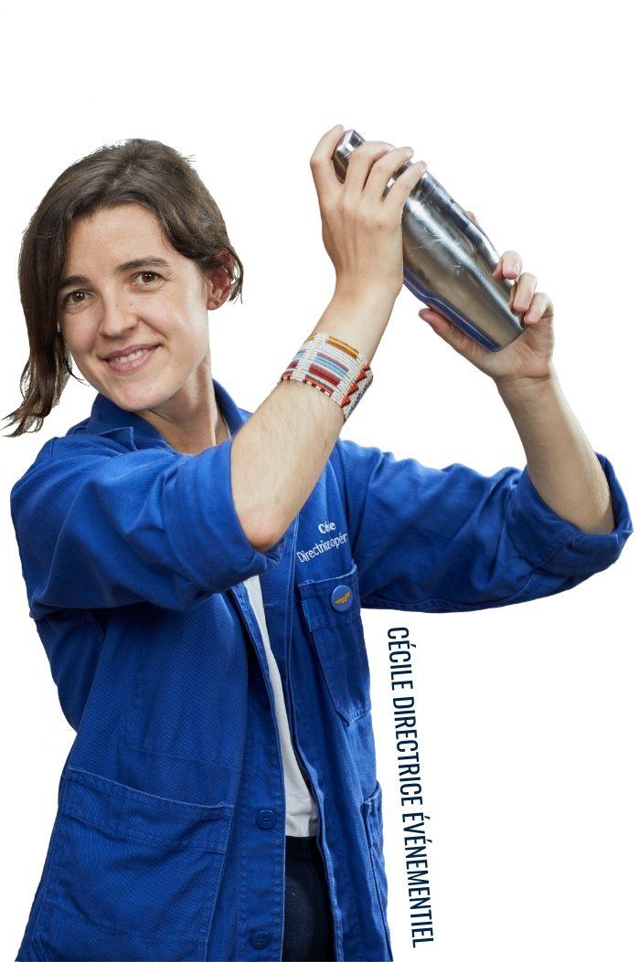 Cécile, directrice événementiel dans l'équipe chefing