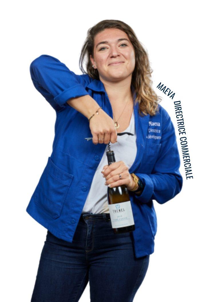 Maeva, directrice commerciale dans l'équipe chefing
