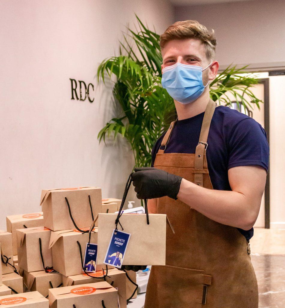 Distribution de boxs chefing chez GIE