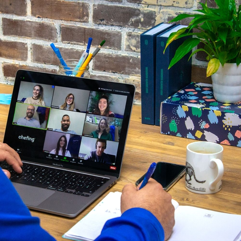 coffret engageant pour séminaire digital