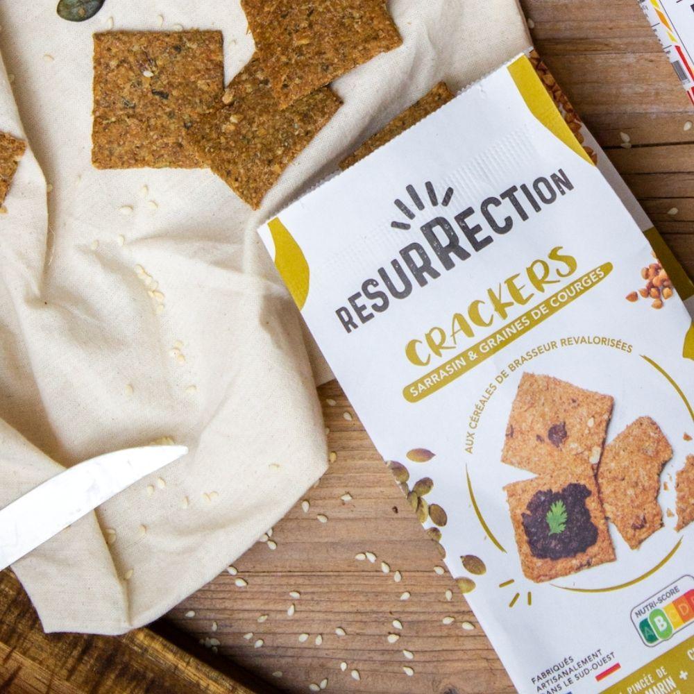 crackers Résurrection bio, sains et éco-responsables