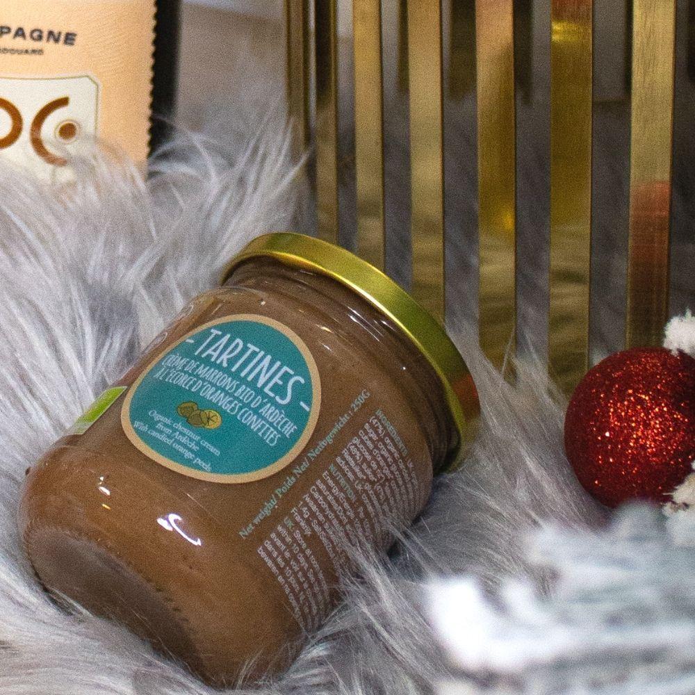 Tartines, partenaire chefing, artisan de crème de marron éco-responsable