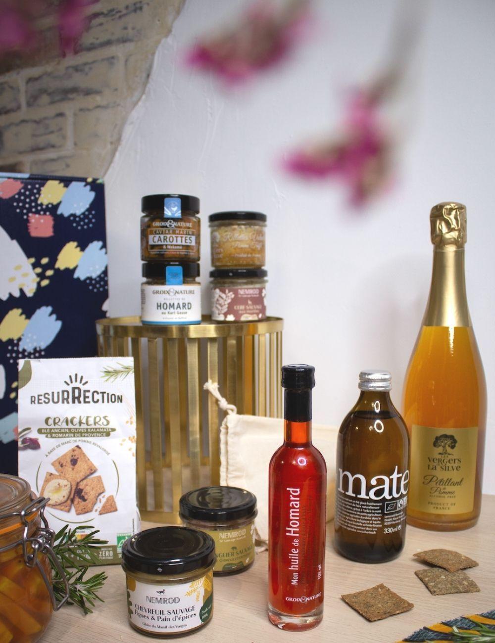 sélection de produits 100% français livrés à domicile