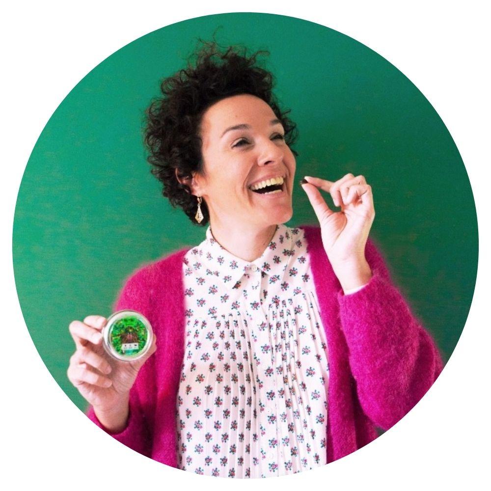 femme entrepreneur et créatrice de Boissons Mé-Mé
