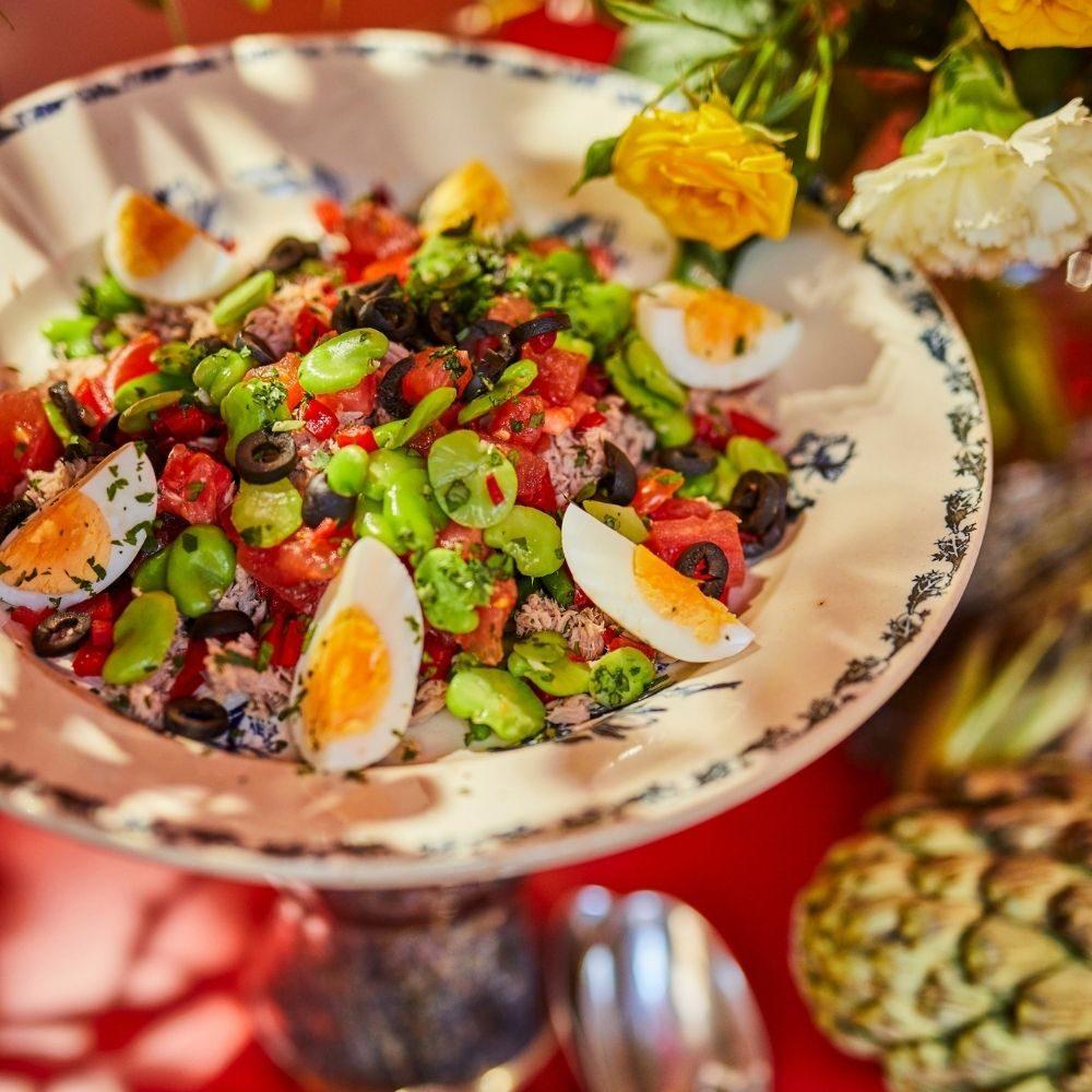 buffet provencial en libre service